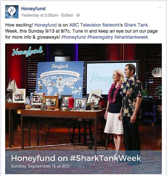Honeyfund Shark Tank
