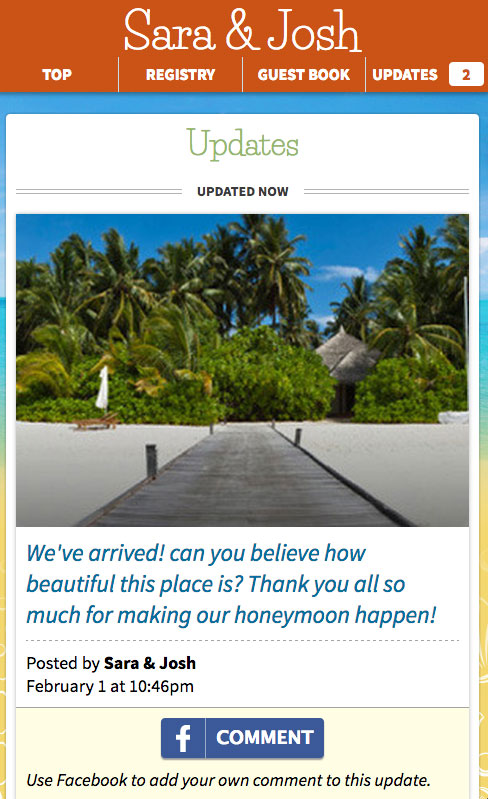 Honeyfund Updates Tool